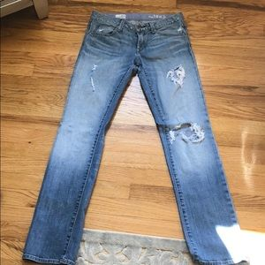 GAP Ripped Jeans size 0/25